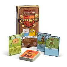wars cards adventure time card wars thinkgeek