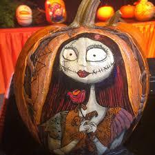 disney sisters jack skellington pumpkins at disneyland halloweentime