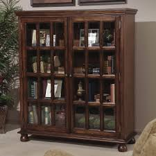 Bookcases With Sliding Glass Doors Inspiring Bookcases With Doors Billy Bookshelf Doors U0026amp