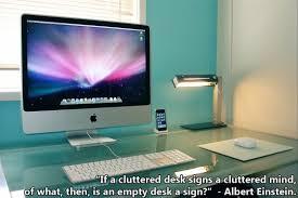 Einstein Cluttered Desk Albert Einstein Thoughts On Desks Churchmag