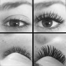before and after eyelash extension hair beauty pinterest