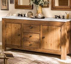 Appealing Pottery Vanity Table Solid Wood Construction Cherry - Bathroom vanities solid wood construction