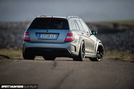 mercedes amg c63 wagon hammer of gods the hms h63 rs700 speedhunters