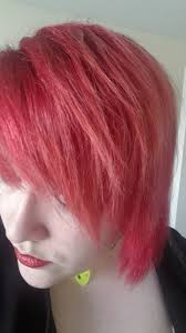 Brighter Pink Red To Pink Hair Caring For Bleached Coloured Hair Gillie Blogs