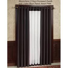 tribeca grommet curtain panels 84
