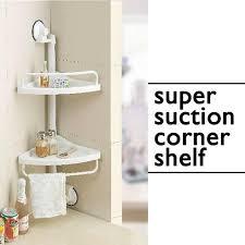 Suction Shelf Bathroom Suction Side Corner Shelf For Kitchen Bathroom Or Office