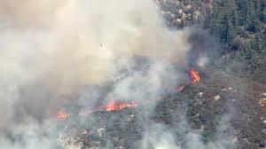 Wildfire Yukon by Pilot Fire Evacuations Affect Some 5 200 Homes In San Bernardino