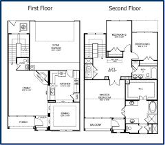 attic apartment floor plans story 3 bdrm 2 1 2 bath with loft 2