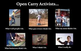 Carry On Meme - open carry activists what i think i do meme gunmart blog