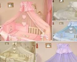 Cot Bed Canopy Crown Baby Canopy Drape Mosquito Net Only Large 480 Cm For Cot