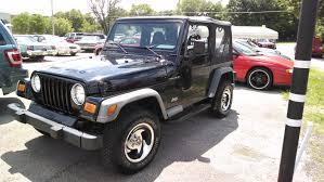dark gray jeep wrangler loughmiller motors
