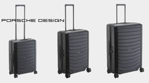 koffer design porsche design roadster hc 4 rollen trolley koffer direkt de