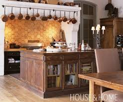farmhouse kitchen island ideas repurposed reclaimed nontraditional kitchen island