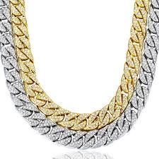gold plated curb necklace images Miami cuban curb link 14k gold plated chain 14mm shopvvs png