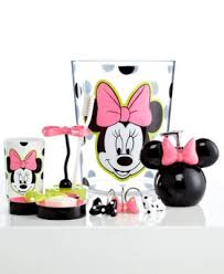 Mickey Mouse Bathroom Accessory Set Minnie Mouse Bathroom Decor House Bathroom Ideas Disney Mickey