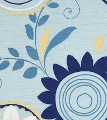 Blue Upholstery Fabric Blue Floral Upholstery Fabric Eastern Accents U2013 Plankroad Home Decor