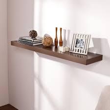 Espresso Floating Shelves by Harper Blvd Tampa 48 Inch Espresso Floating Shelf Free Shipping