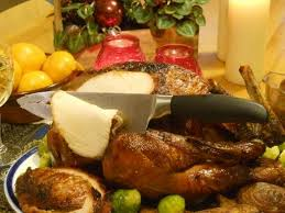 Turkey On The Table Our Woodfired Christmas Turkey Manna From Devon Cooking