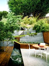 Landscape Ideas For Hillside Backyard by Triyae Com U003d Deck Ideas For Steep Backyard Various Design