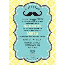mustache baby shower invite u2014 criolla brithday u0026 wedding enliven