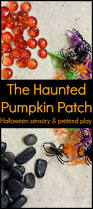 halloween patches halloween sensory activity with a haunted pumpkin patch