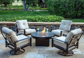 dining fire pit table image of patio furniture fire pit table set