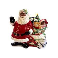 fitz u0026 floyd htf african american cookie jar remembering santa