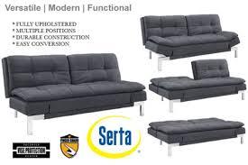 Convertible Sofa Bed Simple Modern Futon Sofa Bed Grey Boca Futon The Futon Shop