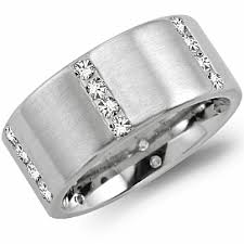wide wedding bands 4 stacked wide wedding band by crown diamond housealexis