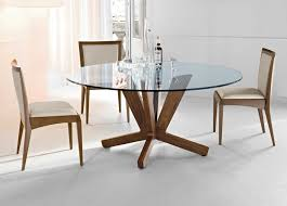 Glass Dining Table Chairs Big Glass Dining Tables With Wood Legs Upholstered