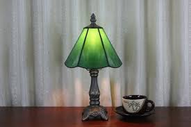 Colored Glass Table Lamps Glass Table Lamp For Living Room Babytimeexpo Furniture