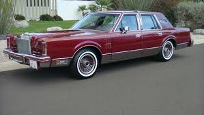 Lincoln Continental Matrix 1980s Cars Were Not Selling As Well As Imports