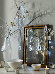 vintage chandelier drops on twigs