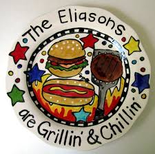 personalized bbq platter 84 best pottery painting ideas images on pottery ideas
