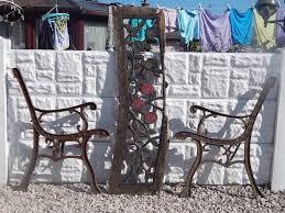 cast iron bench ends garden furniture patio outdoor
