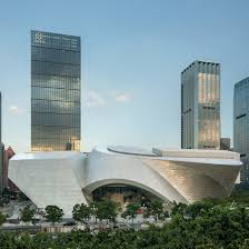 architecture and design in shenzhen dezeen coop himmelb l au combines flat and curving forms at huge shenzhen art complex