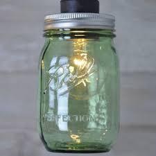 Glass Jar Pendant Light Industrial Hanging Pendant Light In Multicolor Mason Jar