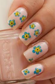 simple u0026 easy flower nail art designs u0026 ideas 2013 2014 hair