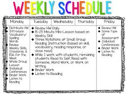 my literacy block schedule blog post about how a 5th grade