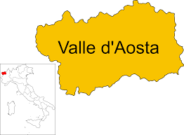 Italy Regions Map by File Map Of Region Of Aosta Valley Italy It Svg Wikimedia Commons