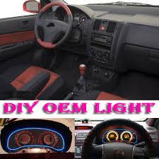 Hyundai Getz Interior Pictures Car Atmosphere Light Flexible Neon Light El Wire Interior Light