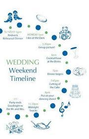 wedding day timeline a la pug wedding half moon bay schedule
