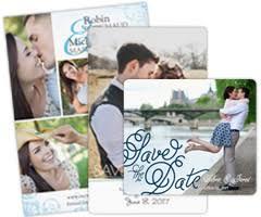 Photo Wedding Invitations Mini Save The Date Magnets Love Airways Magnetstreet