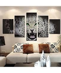 tableau chambre grand tableau design canvas guépard pour salon chambre solenzo