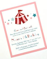 170 best circus invites images on pinterest circus party card