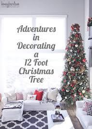 Barcana Christmas Trees by Christmas Tree 12 Ft Christmas Lights Decoration