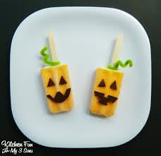 halloween pumpkin popsicle u0027s kitchen fun with my 3 sons