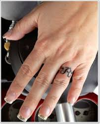 Wedding Ring Tattoo Ideas 16 Wedding Ring Tattoos We Kind Of Love Wedding Ring Tattoos