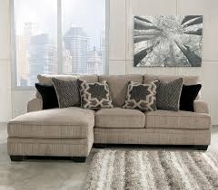 Ashley Furniture 3 Piece Sectional Katisha Platinum 2 Piece Sectional With Left Chaise By Signature