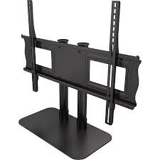 55 Inch Tv Stand Amazon Com Crimson Av Ds55 Single Monitor Fixed Universal Desktop